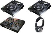 Pioneer CDJ 2000 Nexus,  Pioneer DJM 2000 Nexus