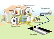 газгольдеры (резервуары) и оборудование для автономной газификации