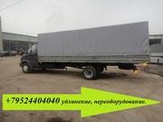Установить расширенный грузовой фургон 40 кубов на Валдай Газ 33106