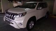 Toyota Prado TXL 2012 году модель,  цвет белый .... полный вариант/.