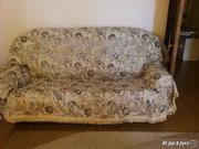 Раскладной диван,  мини диван и кресло (комплект)