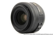 Объектив Nikon DX AF-S NIKKOR 35 мм 1:1.8 G